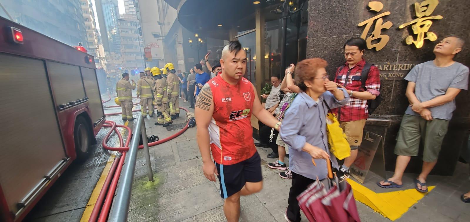居民疏散。
