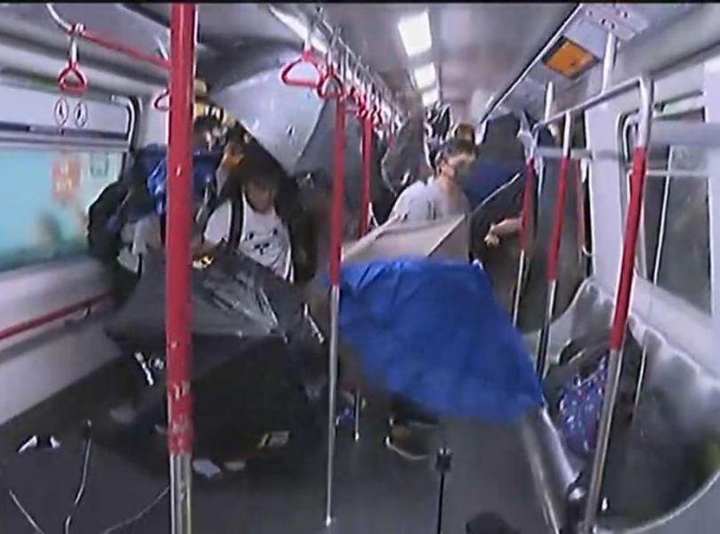 政府否認在8.31在太子站衝突中有致命事件發生。無線新聞截圖