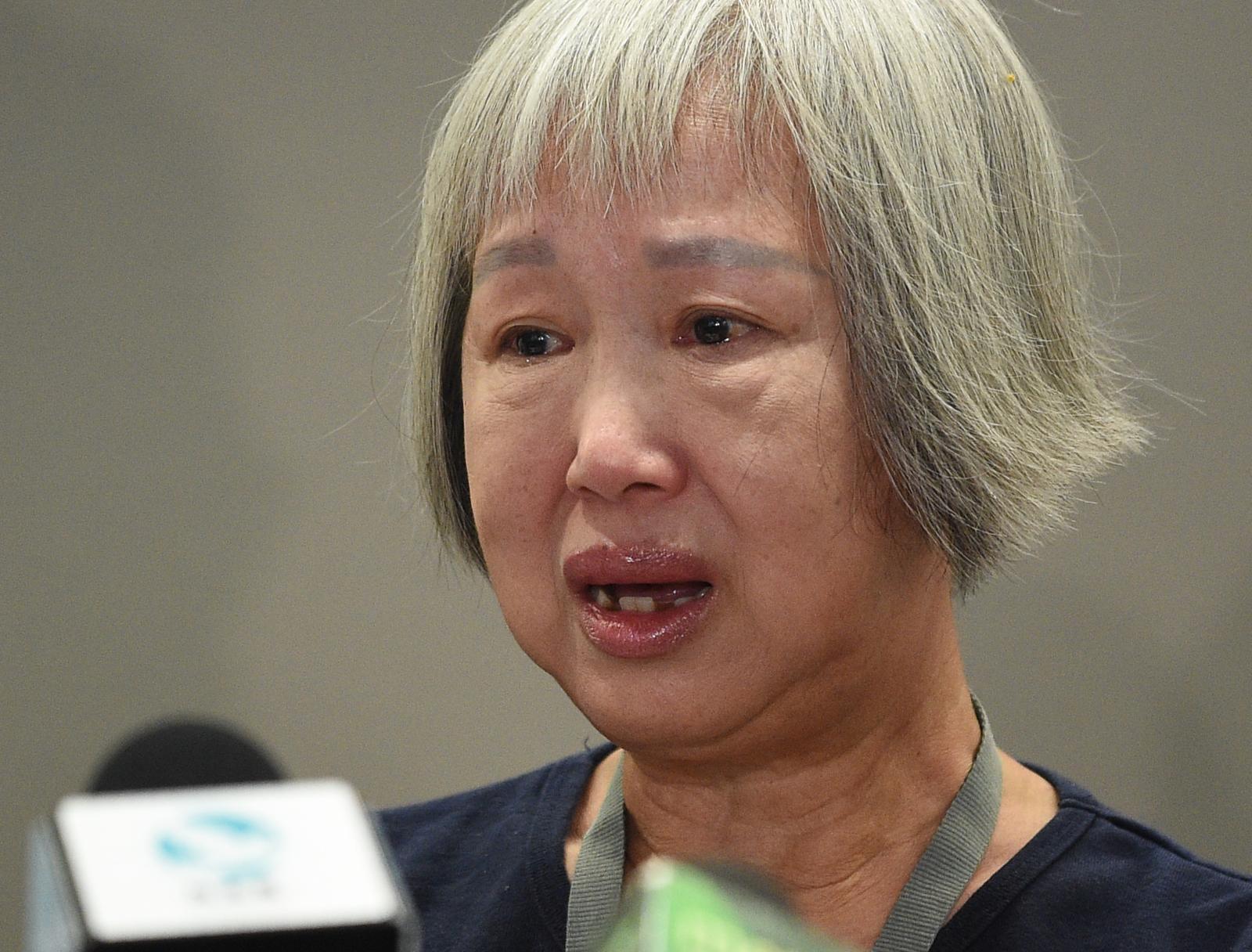 其中一名傷者為年逾60歲的林女士。
