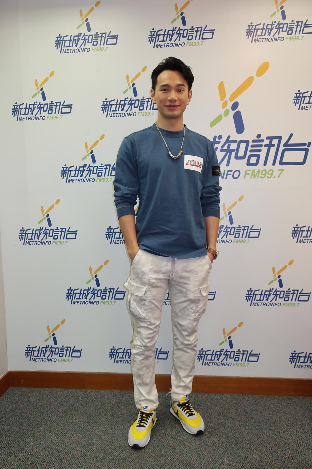 王梓軒謂參加歌唱比賽最重要有熱情。