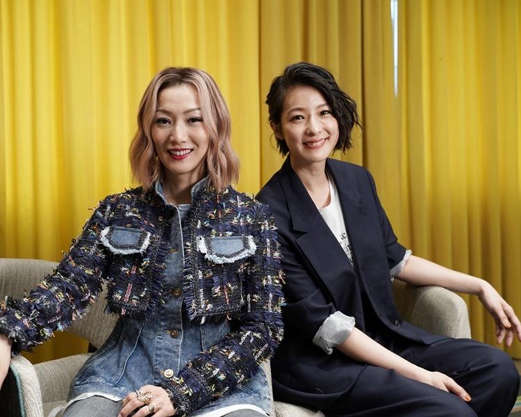 鄭秀文與賴雅妍忙於為新片宣傳。