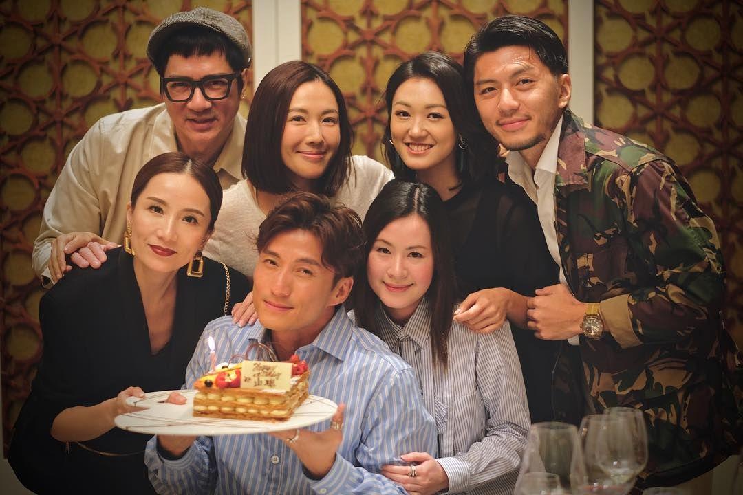 Apple陪同陳山聰走過人生低谷,亦經常陪他出席友人聚會。