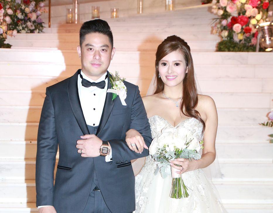 許芷熒下嫁拍拖兩年的圈外男友Alexander。