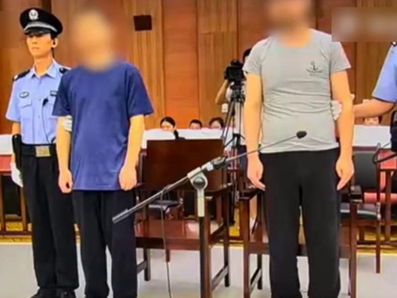 法院對該案進行審理,判處令男死刑、趙男無期徒刑。 影片截圖