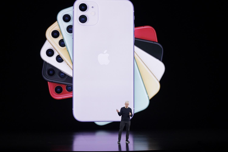 iPhone11提供6種顏色。