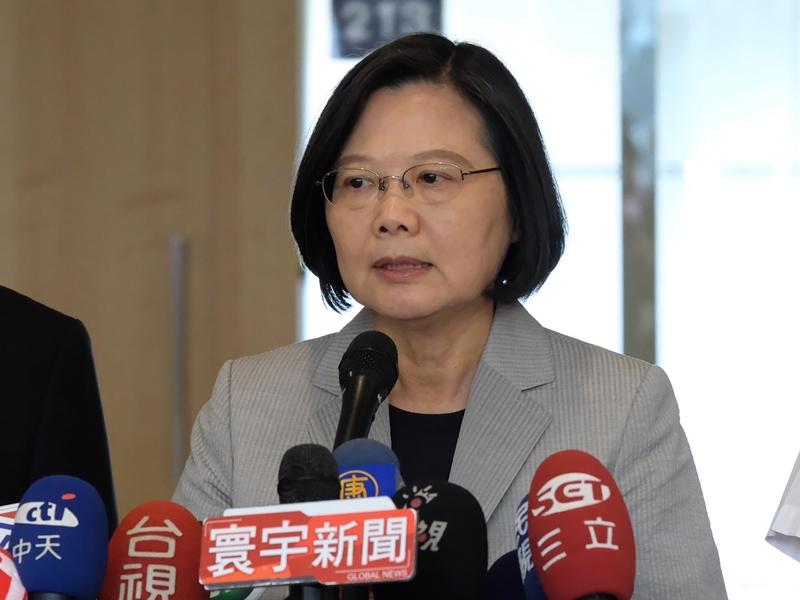 自民進黨蔡英文執政之後,台灣被拒參加ICAO。中央社