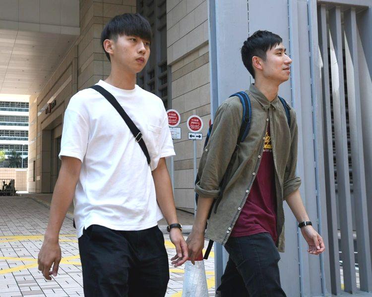 林攸昇(左) 及  崔嘉展(右)。