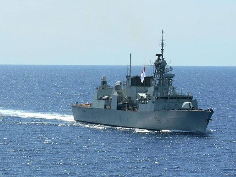 加拿大海軍哈利法克斯級巡防艦(Halifax-class Frigate)的渥太華號(FFH-341 Ottawa)。(網圖)