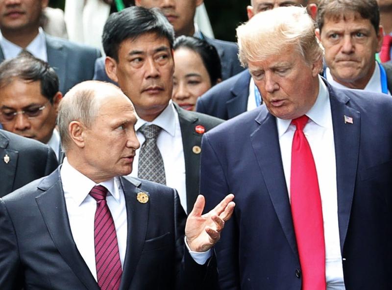 據說俄羅斯總統普京辦公室一名官員曾經是美國間諜。AP資料圖片