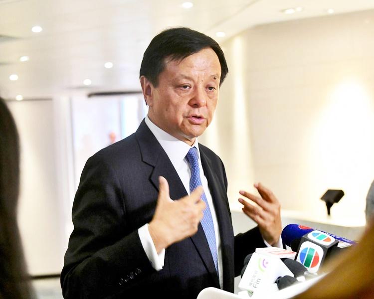 港交所行政總裁李小加指,合併後,港交所將打通東西兩地市場,使業務更多元化。資料圖片