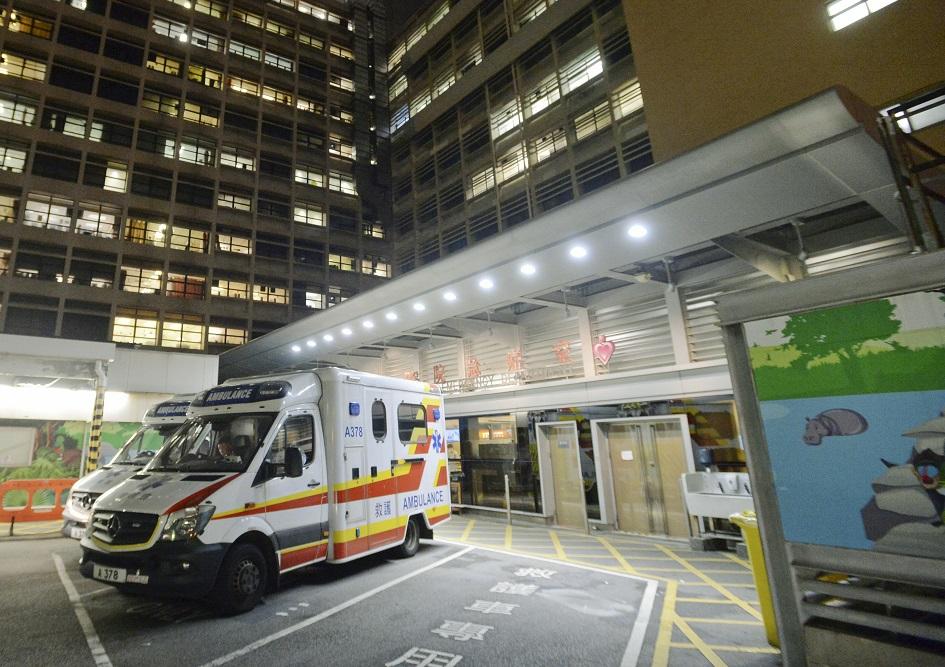女童9月9日起出現發燒及抽搐,同日被帶到伊利沙伯醫院急症室求醫。資料圖片