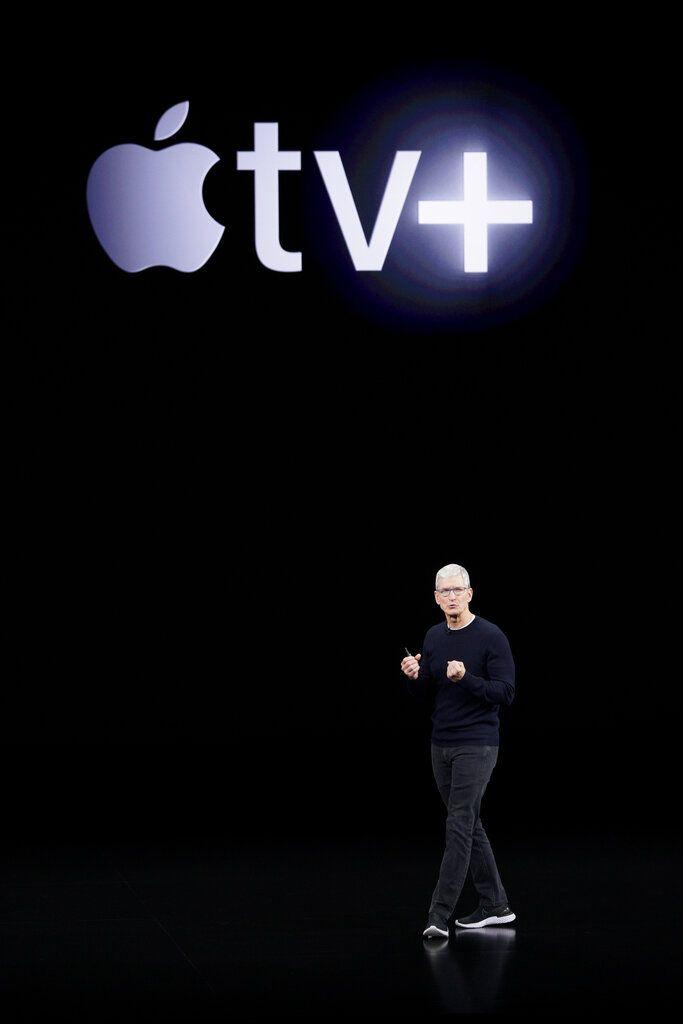 蘋果在11月1日起,推出Apple TV+ 串流電視服務。AP