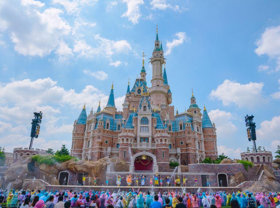 上海迪士尼微博圖片