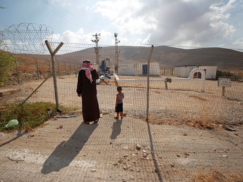 以色列總理內塔尼亞胡周二揚言,將會兼併約旦河西岸佔領區的約旦河谷和死海北部地區。