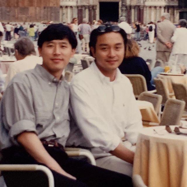 唐鶴德過往亦曾上傳哥哥的舊照。唐鶴德ig圖片
