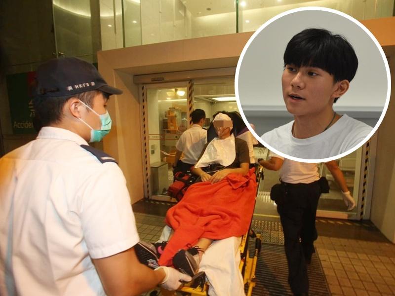 方仲賢上月六日晚在深水埗購買10支觀星筆後,一度被警方拘柙,約2天後獲無條件釋放。