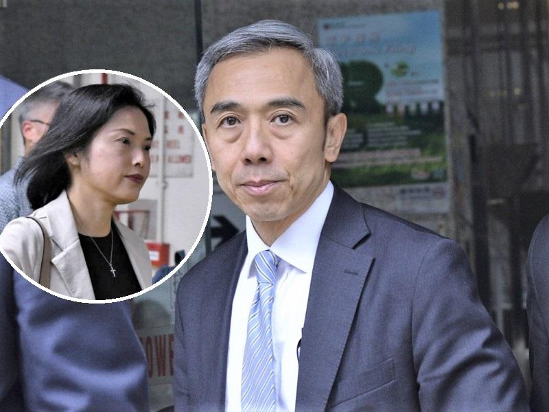馮永業判刑,妻子馮程淑儀亦列席聆訊。資料圖片