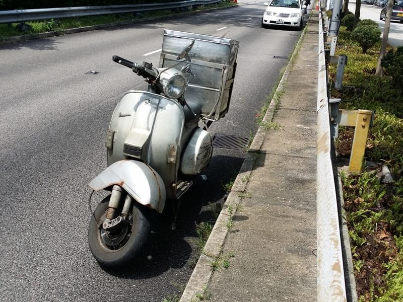 電單車東區走廊疑失控倒地 司機受傷送院