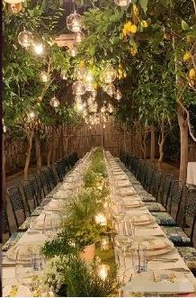 意大利婚宴曝光。網圖