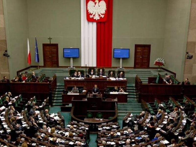 波蘭國會將休會至10月13日大選結束之後。 網圖