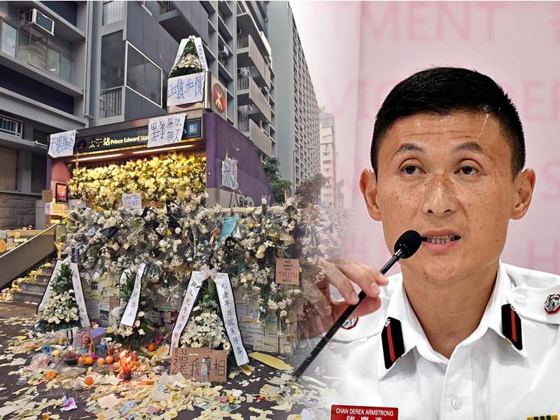副消防總長(總部)陳慶勇強調,消防處不會隱瞞死傷者數目。
