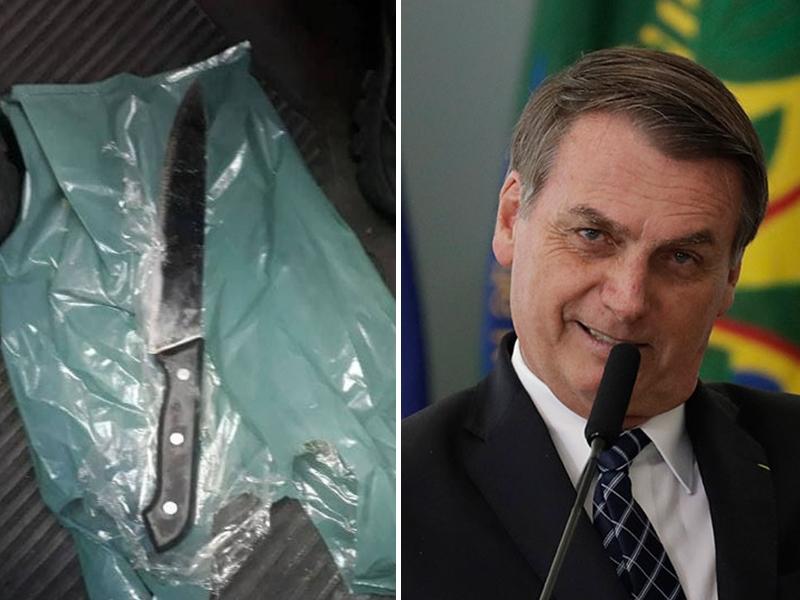 巴西總統博爾索納羅去年底進行競選運動時,被一名男子揮刀襲擊,身受重傷。 網圖/AP