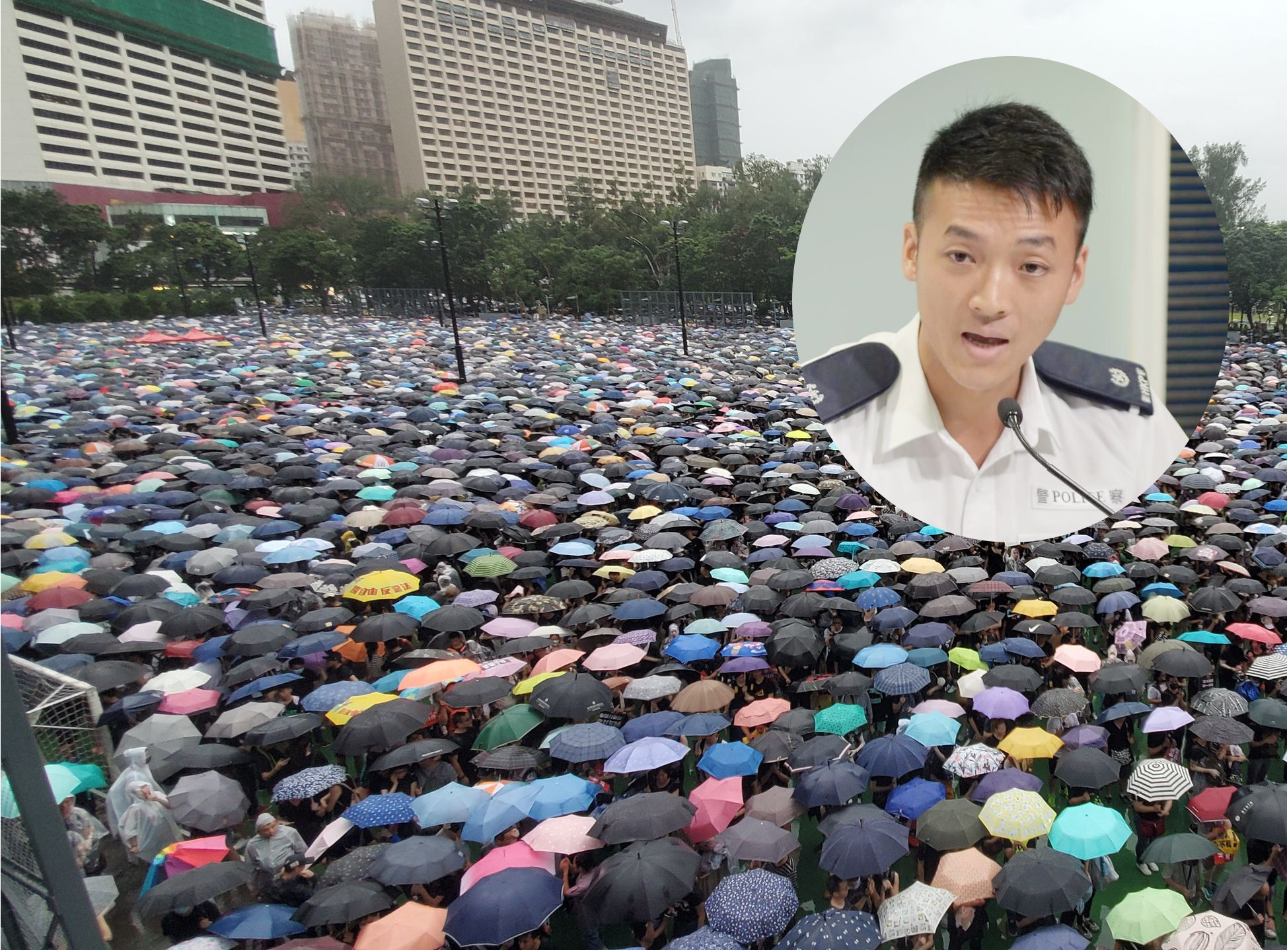 郭進傑(小圖)指,相信激進示威者會借活動作出暴力行為。資料圖片
