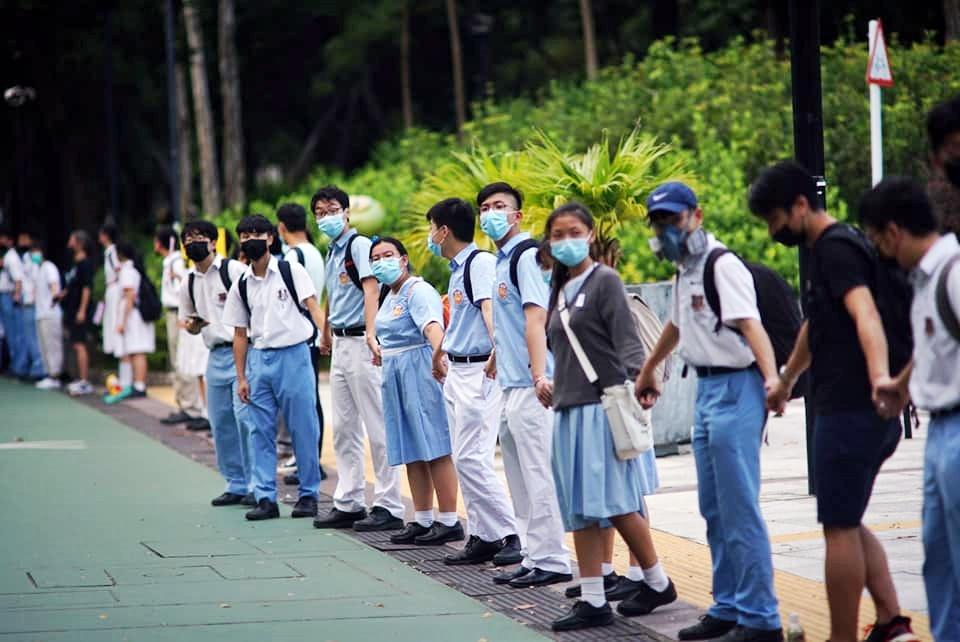 圖片:facebook屯門公路塞車關注組Adolf Cheung