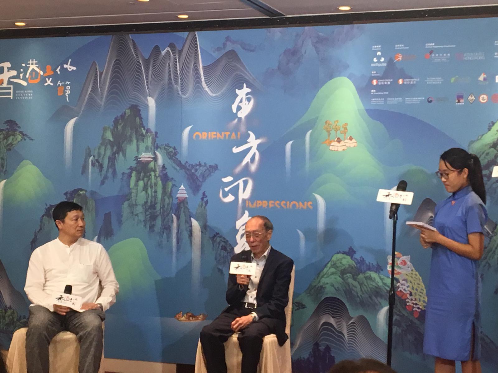 水墨大師王無邪早前帶領7位藝術家到韓國濟州島作畫。