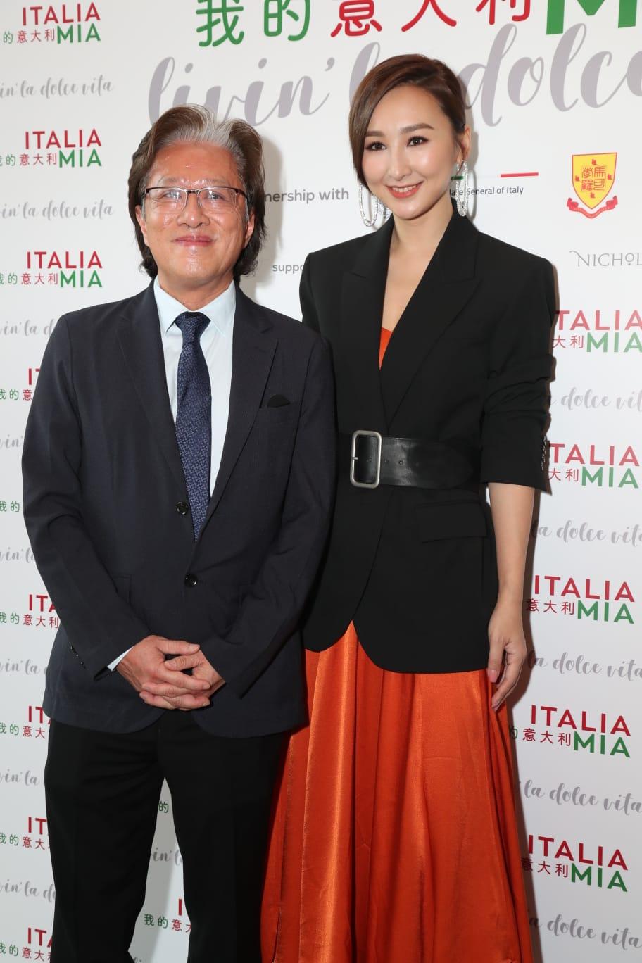 高海寧出席意大利文化節活動。