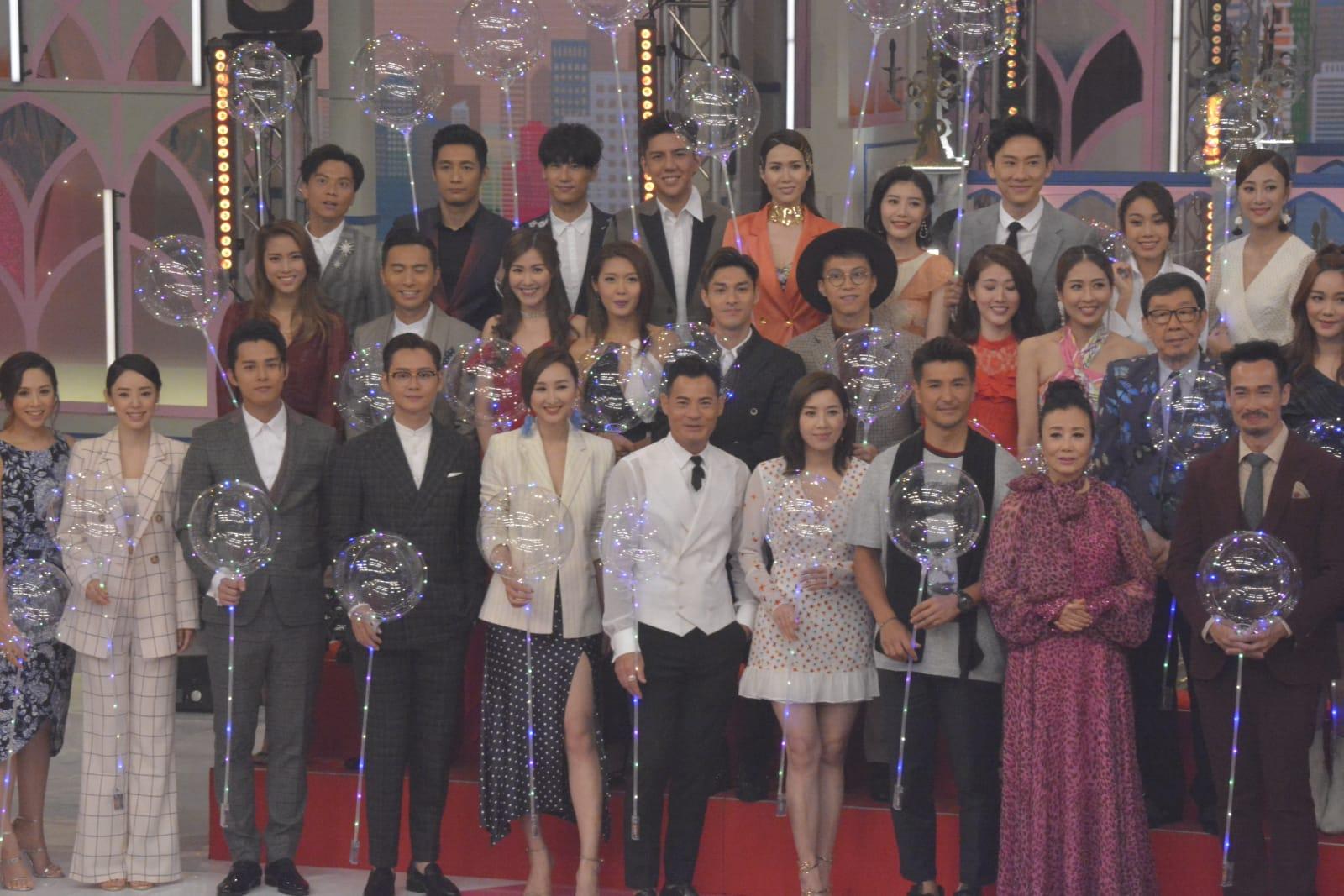 陳展鵬為《香港唱好演唱會》節目錄影。