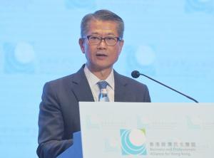 陳茂波:與國資委會面無討論央企在港領導地位問題