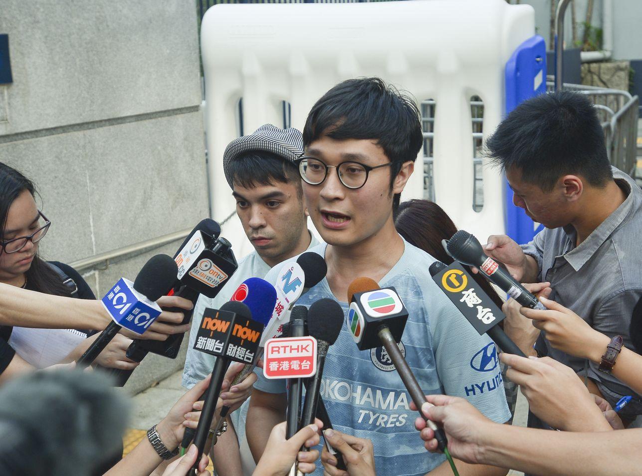 劉頴匡指,香港人面對全方位打壓,只是比過去更慘烈。資料圖片