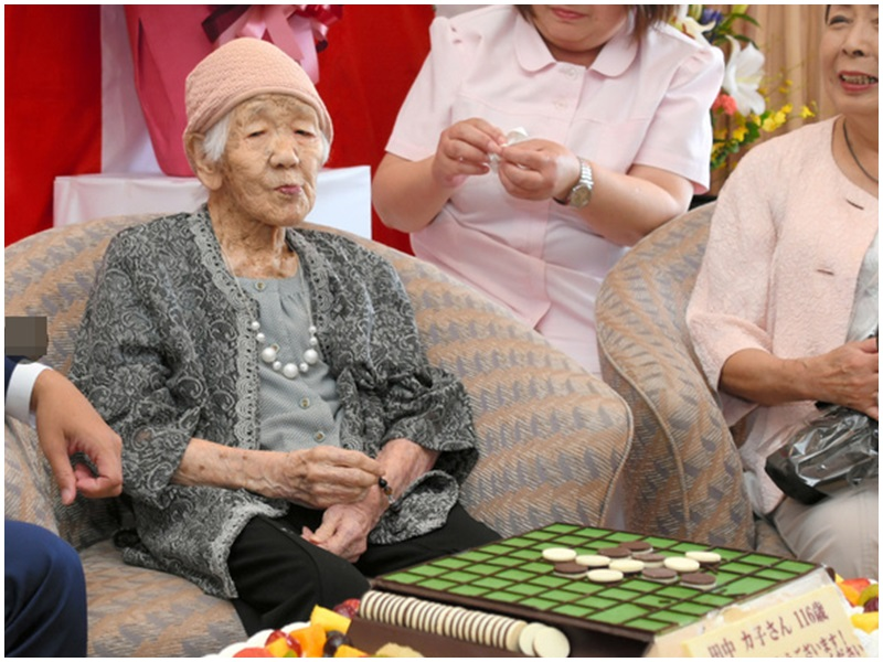 田中婆婆表示「還沒有要離世的感覺」。網圖