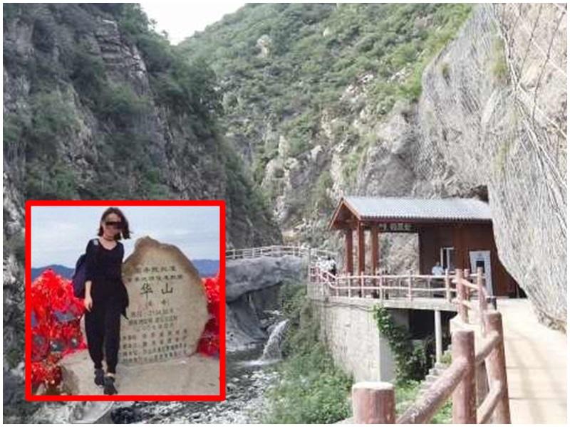 深圳女子獨遊被搶劫姦殺再抛屍,家屬索賠景區300萬。網圖