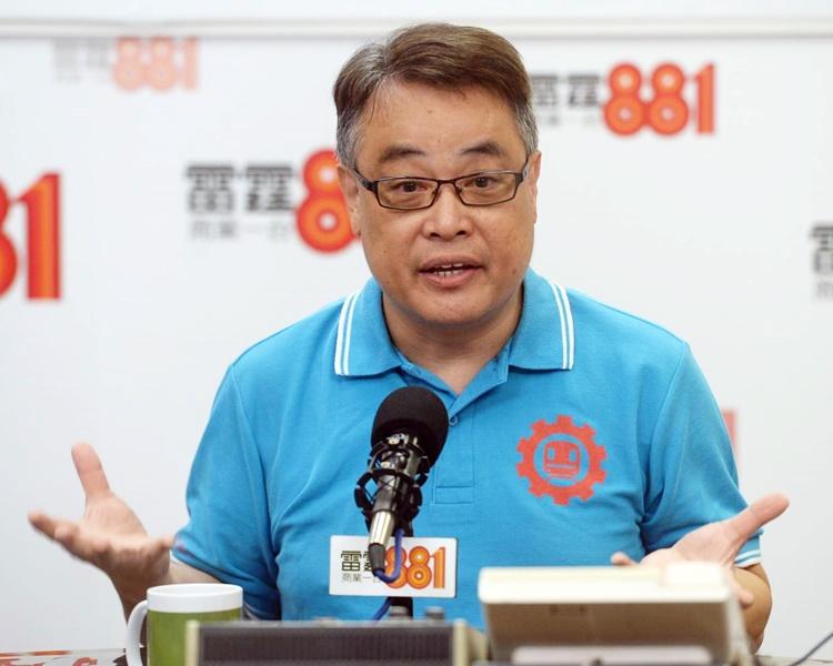 林偉強指車站職員無權代表公司對外作交代,希望示威者明白。