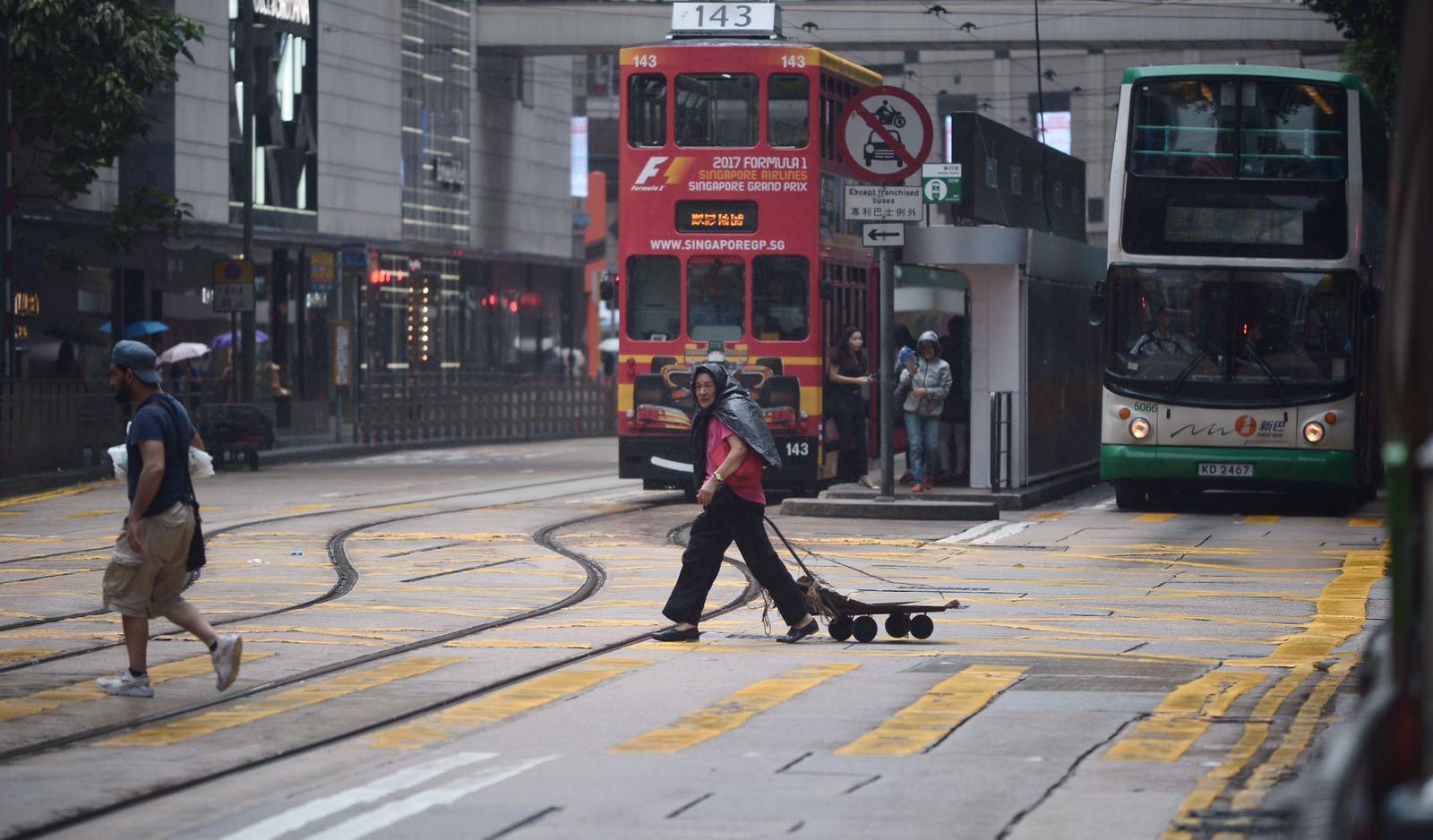 電車服務受影響。