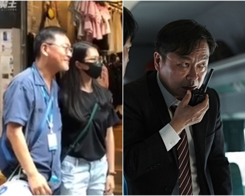 【修例風波】韓資深藝人金義聖 現身銅鑼灣示威區撐年輕人