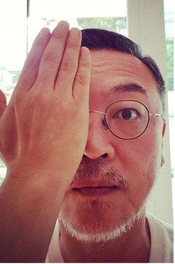 金義聖曾IG上傳照片聲援眼部受傷的女示威者。