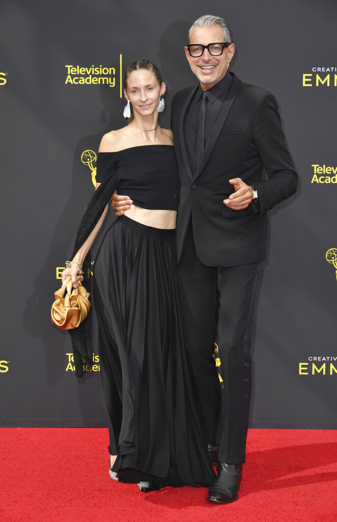 謝夫高林拔和妻子Emilie Livingston。AP