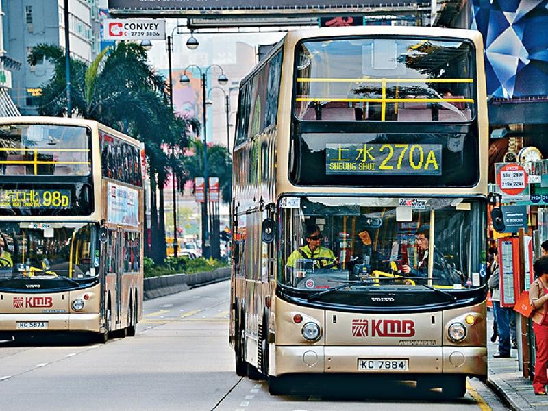 今早巴士服務或有延誤。資料圖片