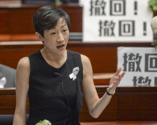 陳淑莊赴聯合國 演說講人權
