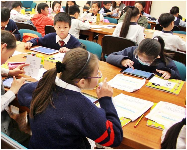 調查發現中學電子課本使用率明顯低於小學。資料圖片
