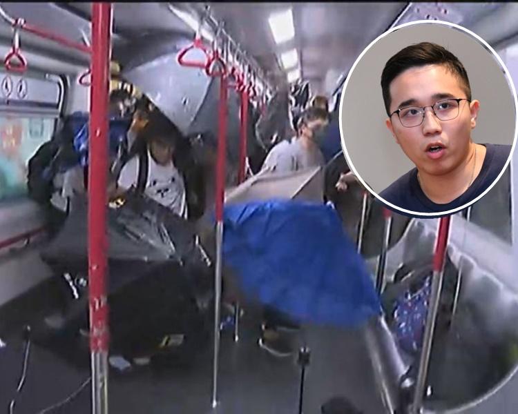 梁耀霆入稟要求港鐵披露8.31太子站閉路電視片段。 資料圖片