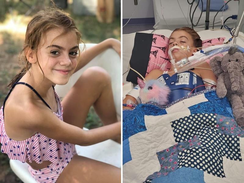 美國德州一名10歲的女童在湖中玩水,竟然感染到「食腦蟲」。 網圖