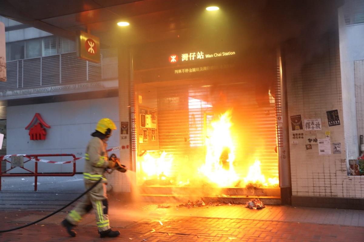 穆迪下調香港評級展望至「負面」。資料圖片
