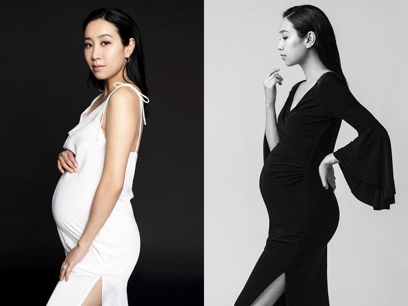 今年4月宣布再度懷孕的吳雨霏上載了兩張孕照,並分享懷孕感受。 吳雨霏IG