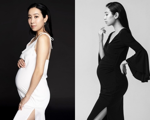 吳雨霏IG曬美麗孕照 英語撰文分享懷孕感受