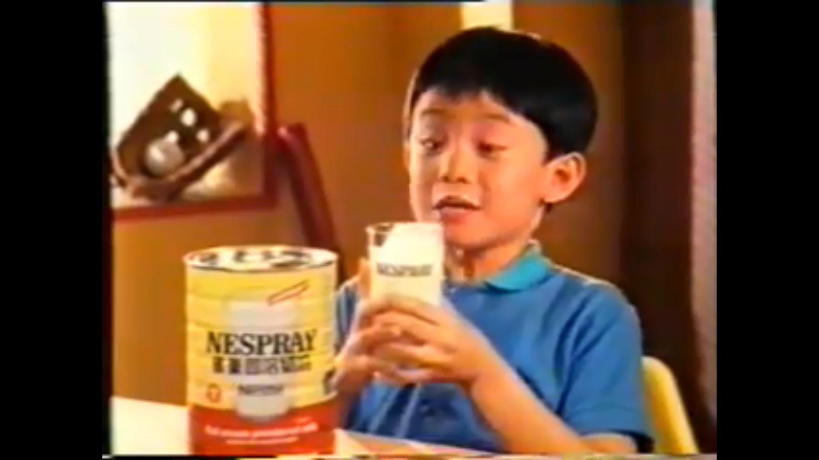 童星出身的張繼聰當年一句「住15樓養嘅牛牛」的經典廣告對白,相信是不少人的童年回憶。