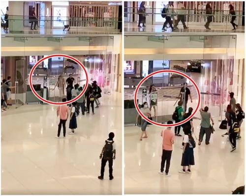 【修例風波】夫婦被捕涉揮刀持鐵通 威嚇新城市反修例人士